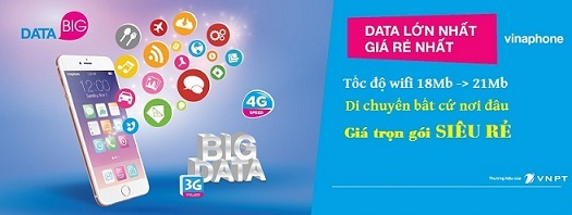 VinaPhone Big Data 3G/4G