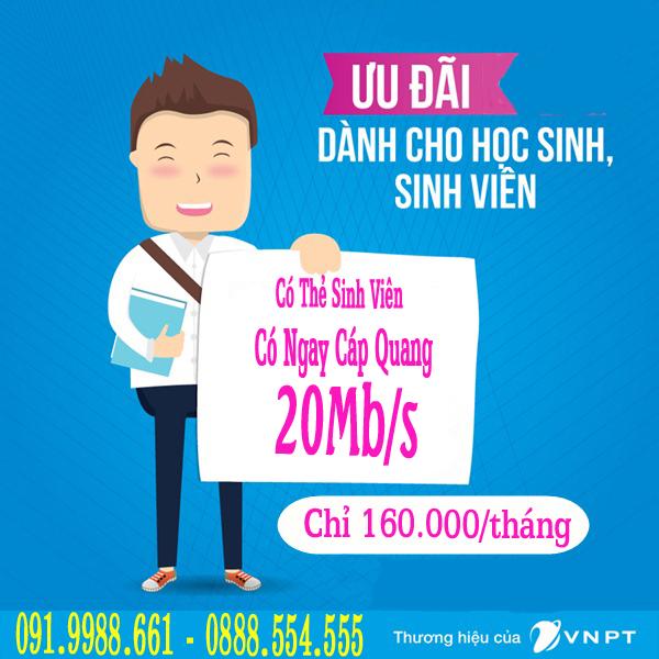 lắp mạng wifi sinh viên giá rẻ VNPT TpHcm