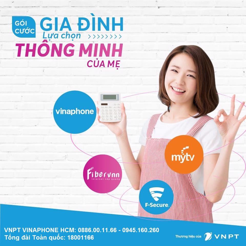 Combo internet FiberVNN Gia dinh MyTV